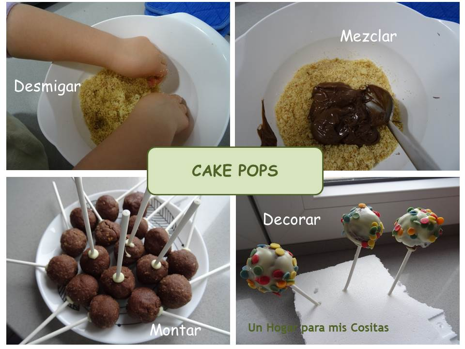 Cake pops de chocolate faciles