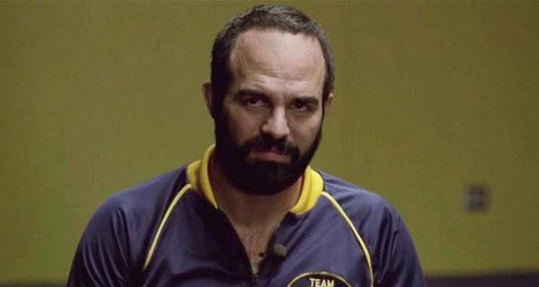 """Mark Rufallo como Dave Schultz en """"Foxcatcher"""""""