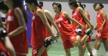 Foto Tim Basket Putri Indonesia