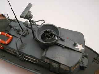 ametralladora de la patrullera