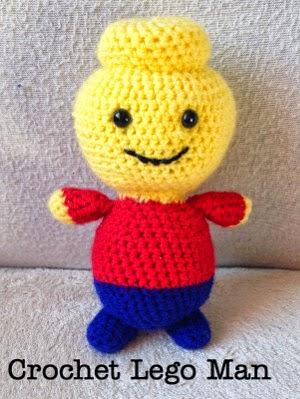 Crochet Amigurumi Lego Man - FREE Pattern Free Amigurumi ...
