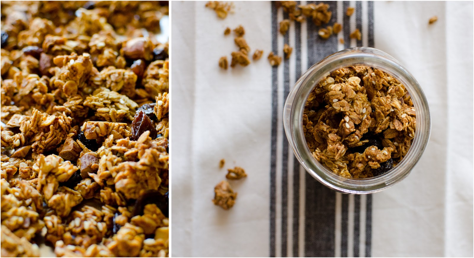 Homemade Pumpkin Granola / the kosher spoon