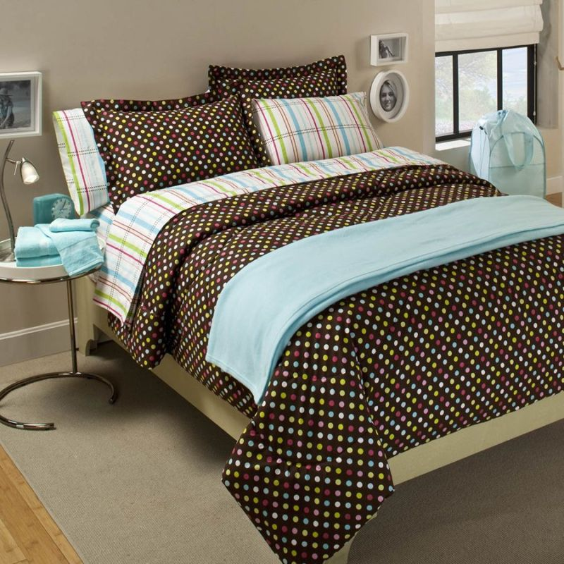 PB Teen Licorice Dot Duvet Cover. Retails for $99, on sale for $79