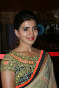 Samantha Latest Glam pics in saree-thumbnail-17