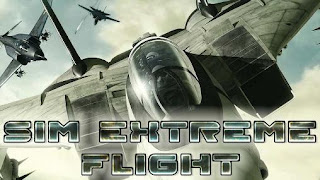 Screenshots of the Sim Extreme Flight for Android tablet, phone.