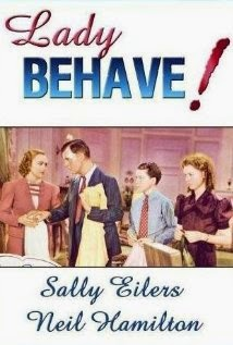 Lady Behave! DVD Sleave