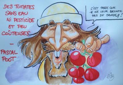 Caricature Pascal Poot - Guillaume Néel ©
