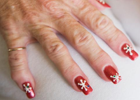 Christmas Nail Art Ideas -7