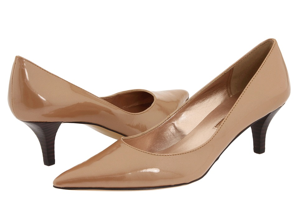 Low Heel Dressy Black Shoes
