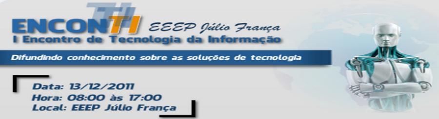I Encontro de Tecnologia da Informação
