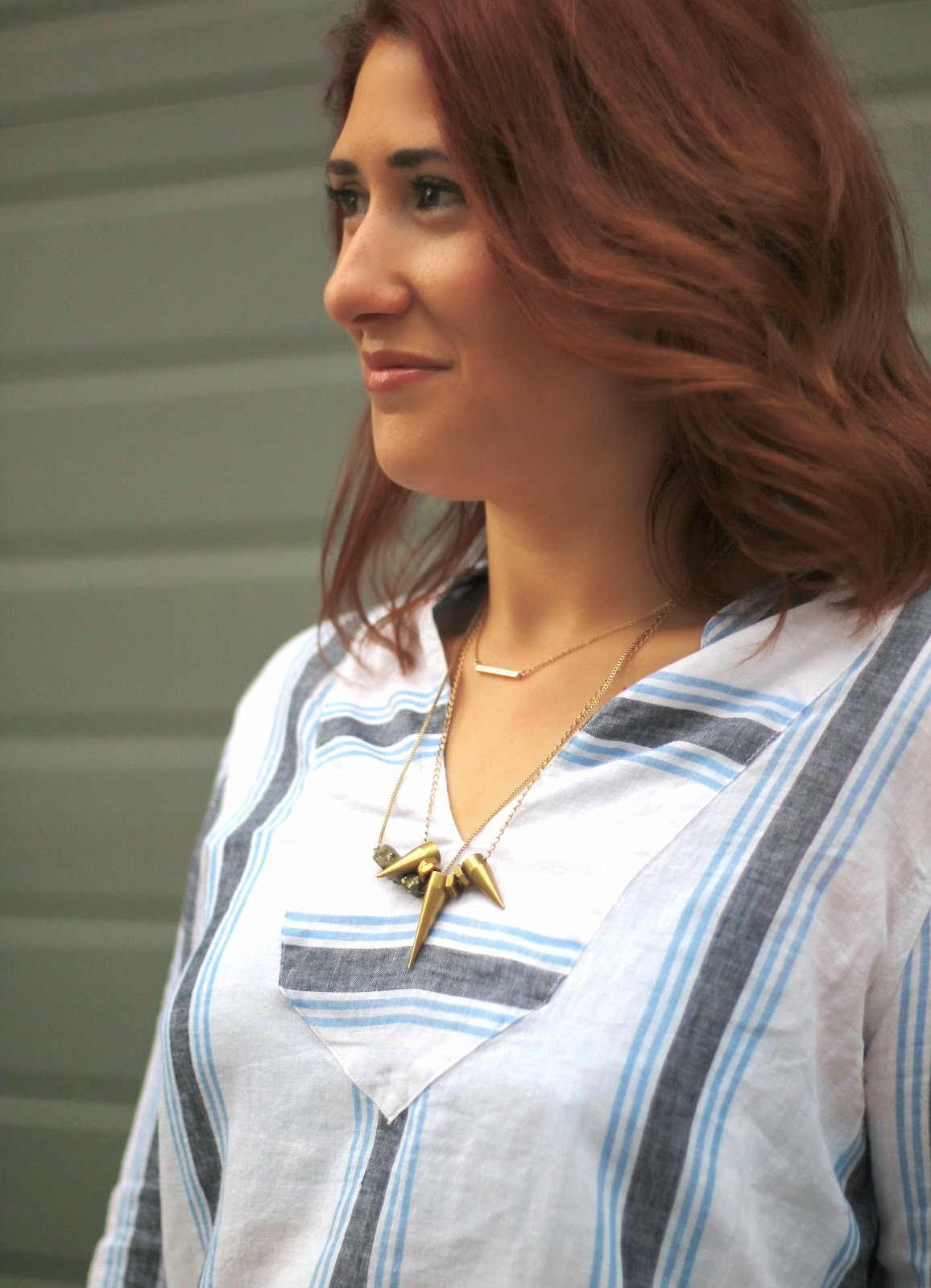 3, spike, alimonada, necklace