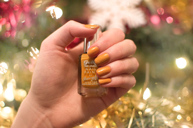 Barry M Mustard Nail Polish Review