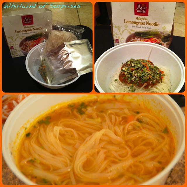 Asian Meals Malaysian Lemongrass Noodle Review