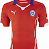 Puma divulga camisas do Chile para a Copa do Mundo