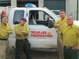Leech Lake Wildland Fire Crew