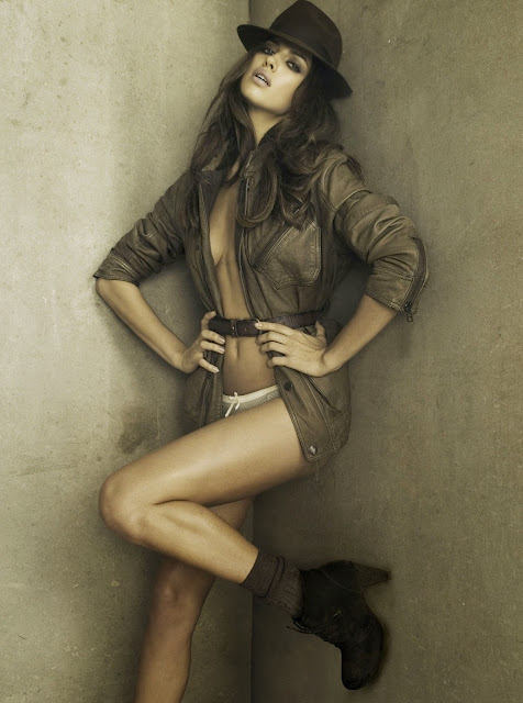 Irina Shayk strikes a pose in  XTi Shoes Photoshoot