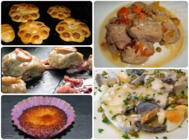 Menú con cinco recetas nº 13