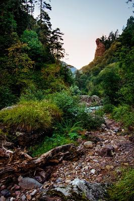 В русле реки Кишкет