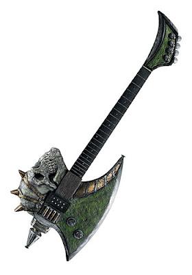 Skull Axe Instrument
