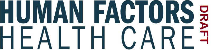 Human Factors in Healthcare