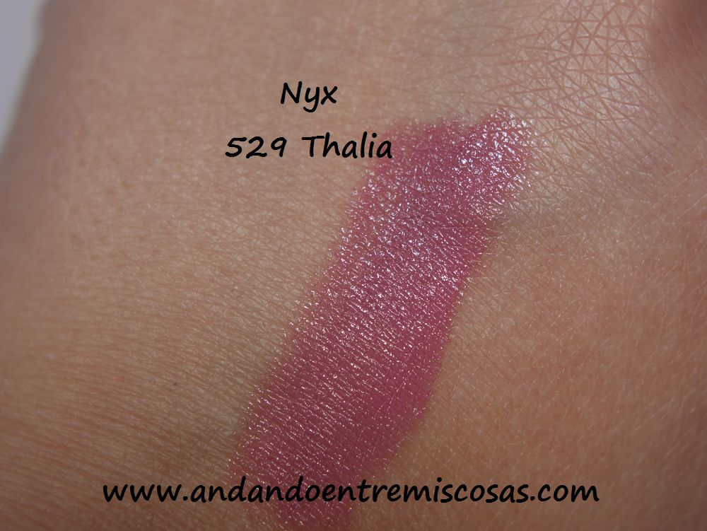 Nyx, 529 Thalia, Swatch