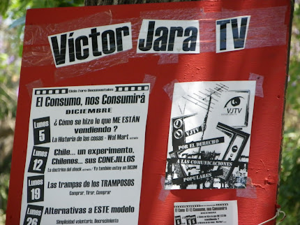 Promoción barrial de la Tv Comunitaria