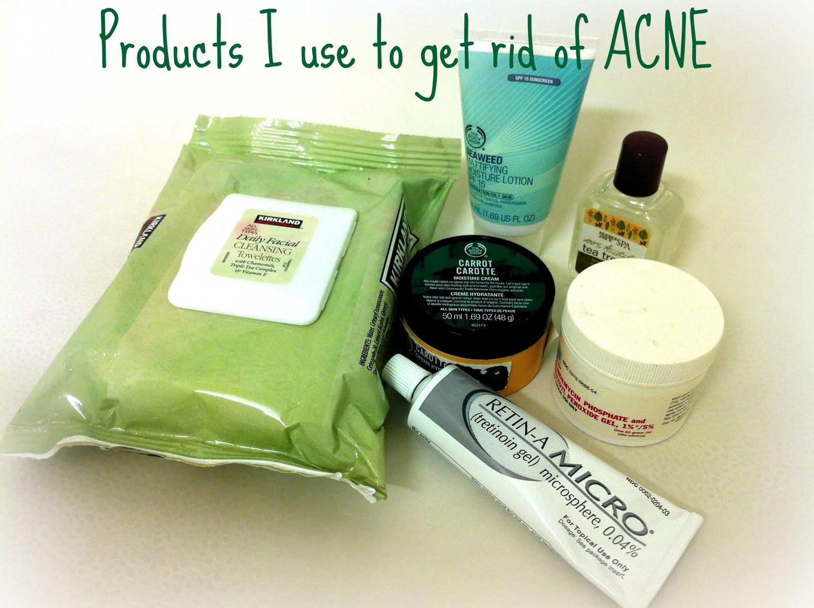 how to make acne go away