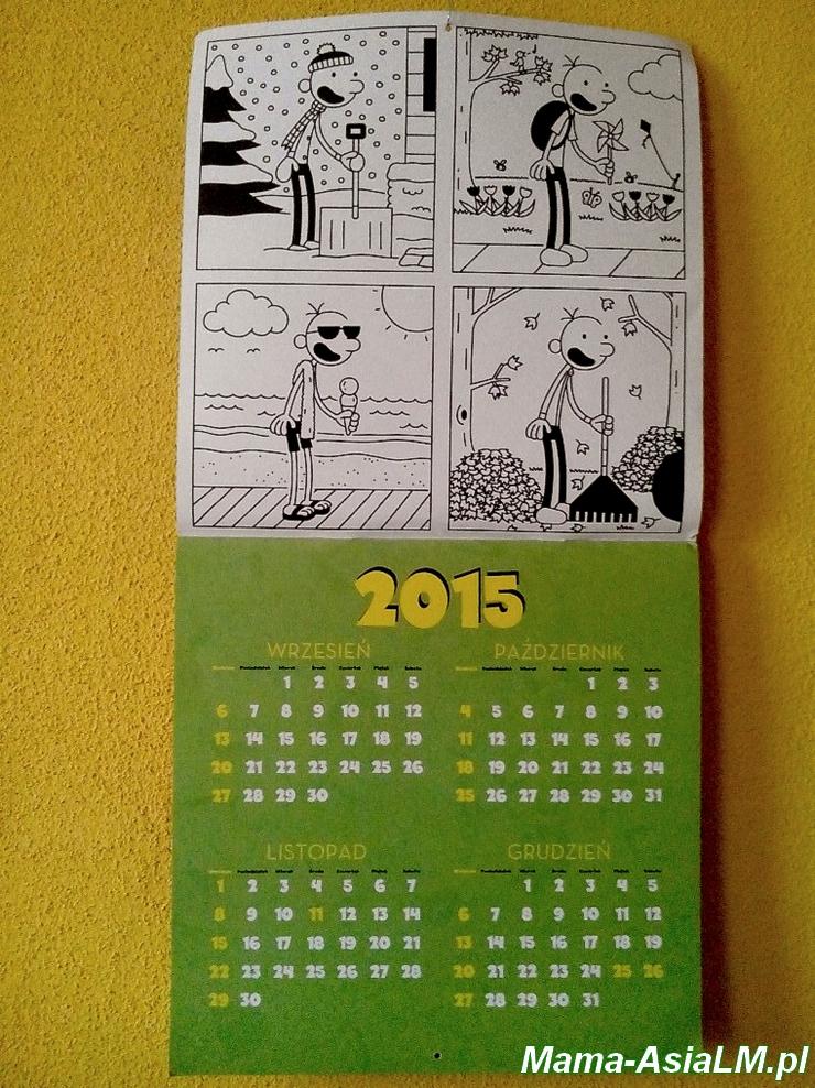 Nieziemski Kalendarz Cwaniaczka pierwsza strona