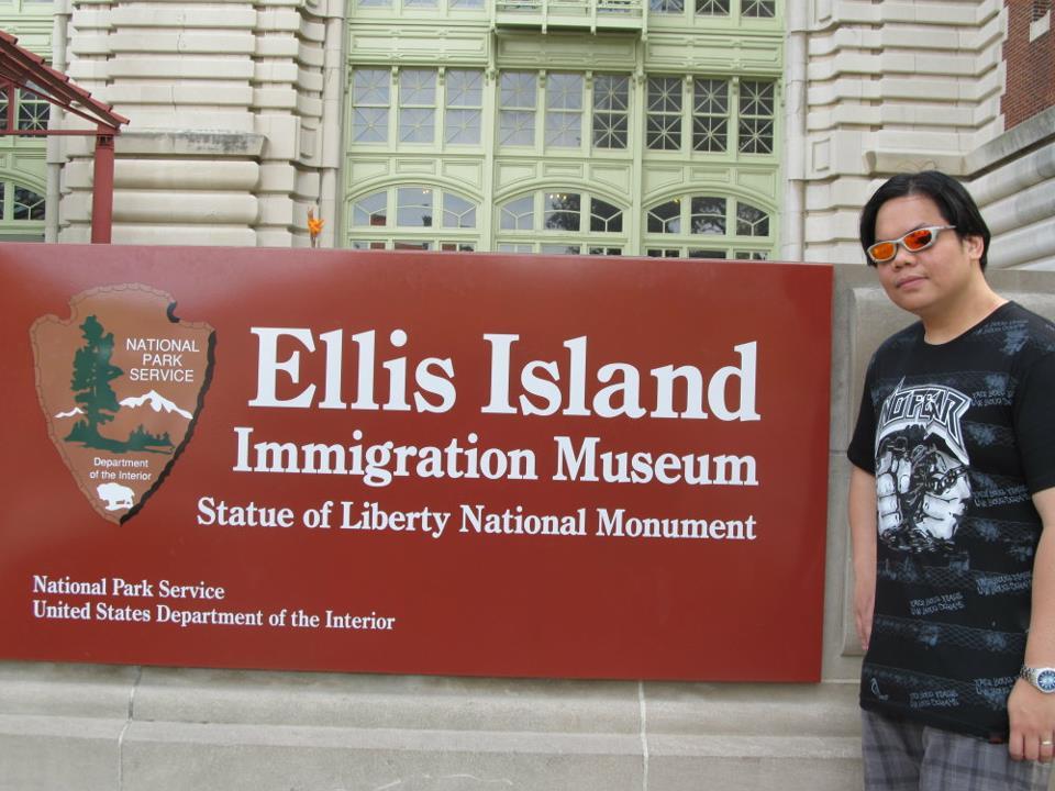 New York Ellis island