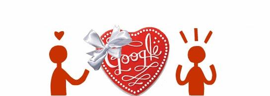 COSAS VARIAS: el logo de google por san valentin valentin´s day ...