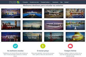 DESCUBRA O MUNDO - INTERCÂMBIOS