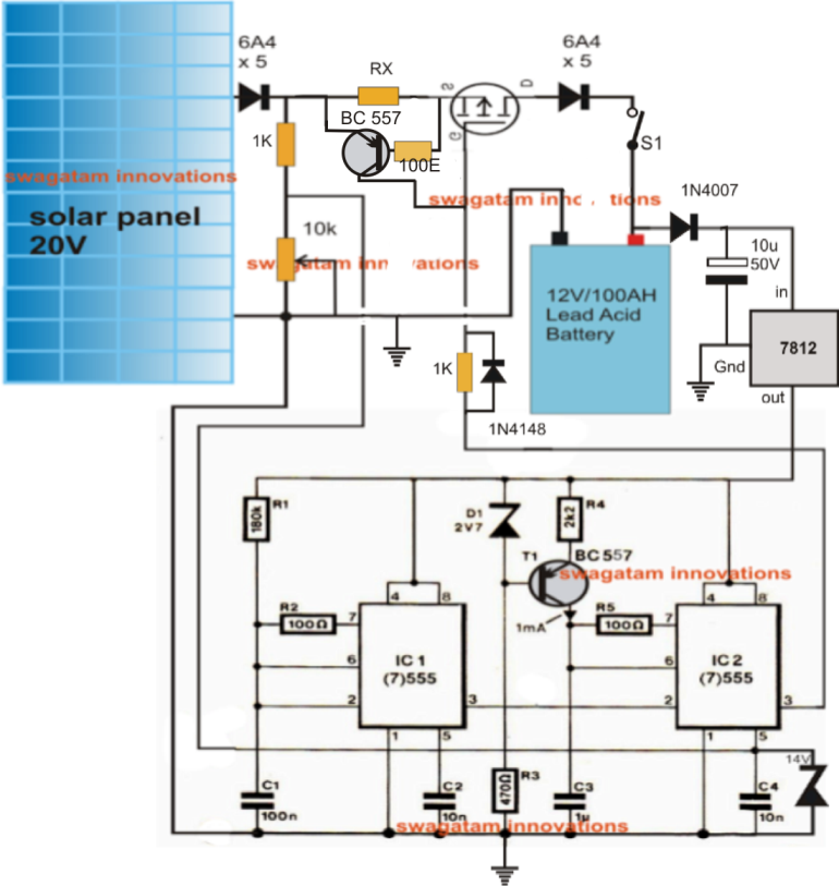 simple solar mppt circuit part 1