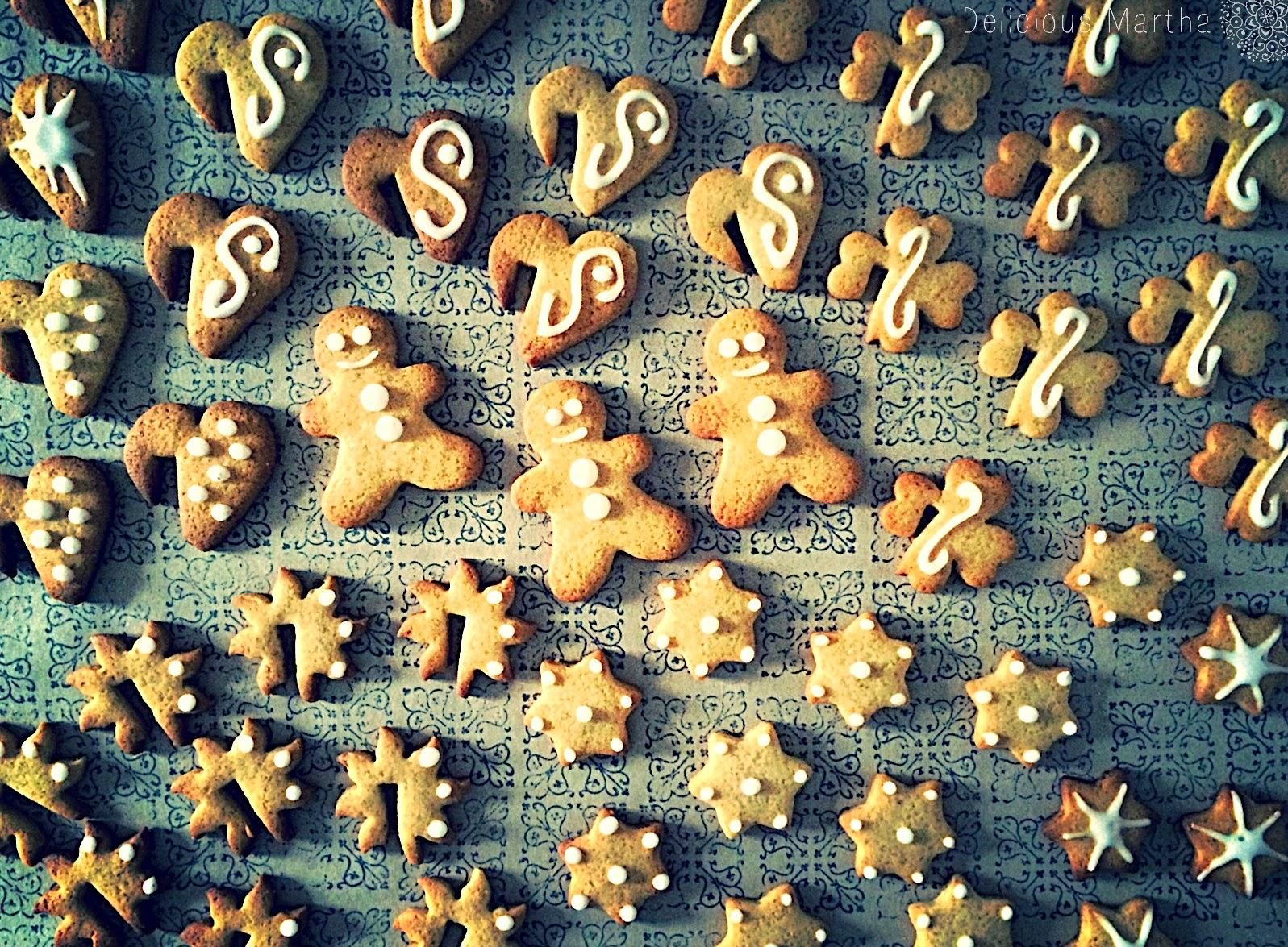 Christmas Ginger Cookies (Galletas de jengibre)