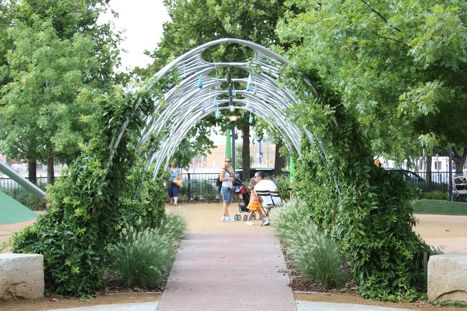 The Arbor Entrance To The Childrenu0027s Garden Is Where The Fun Begins.