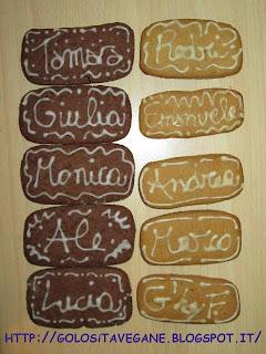 Antipasti, cacao, cioccolato, Dolci, erba limoncina, farina, forno, glassa, incontri, latte vegetale, licoli, lievitati, marmellata, nocciole, pasta frolla, ricette natalizie, ricette vegan, Varie, zucchero dulcita,