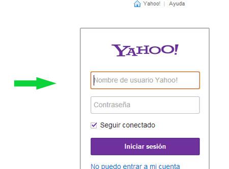 Como iniciar sesion en Yahoo mail | Iniciar sesion correo