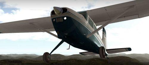 Flight Simulator News Brief Carenado Cessna C185f