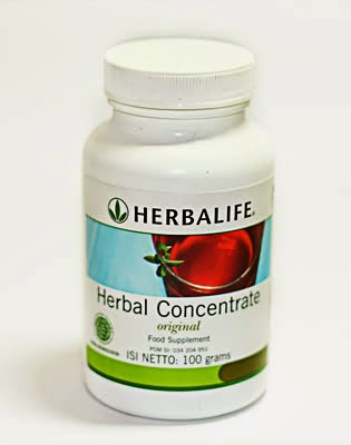HERBAL TEA CONCENTRATE HERBALIFE