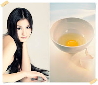 manfaat kuning telur untuk rambut