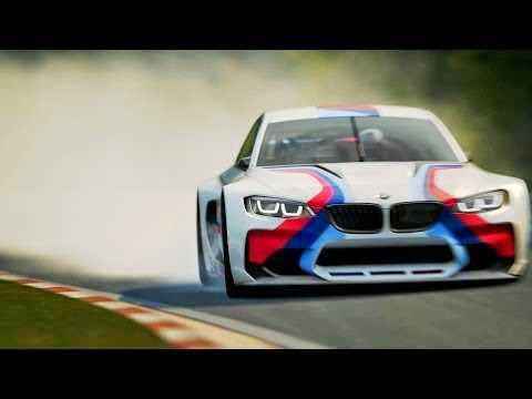 BMW Vision GT6 - bagian depan