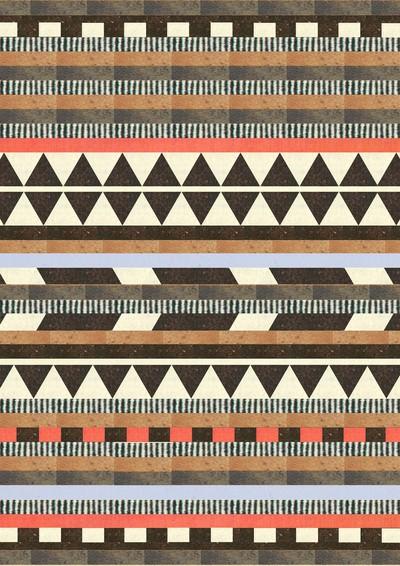 tribal design wallpaper brown - photo #6
