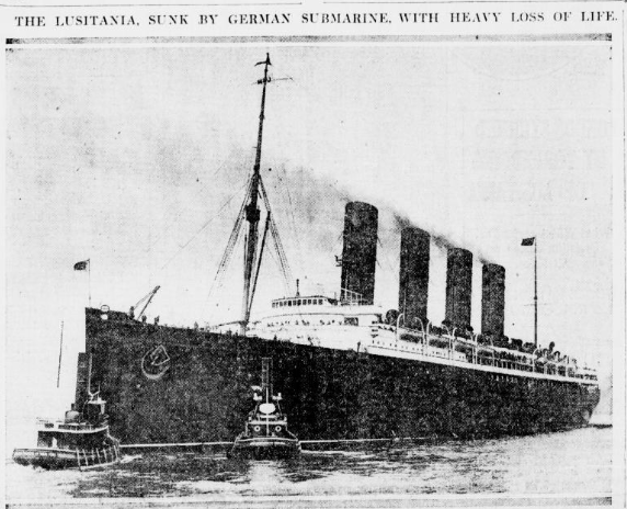 a history of the sinking of the lusitania in germany See how the lusitania sailed into history the blistering conditions imposed by the allies on post-war germany sinking of the lusitania/treaty of versailles.