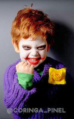 Cosplay Coringa Infantil