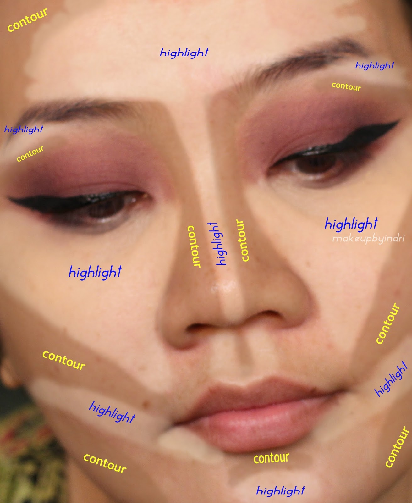 Make UP By InDri Video Tutorial Make Up Pesta