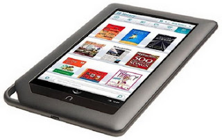Barnes & Noble Nook Color debuts, a full-color touch reader's tablet