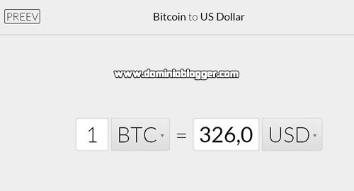 Convetidor de dolares a bitcon en Preev