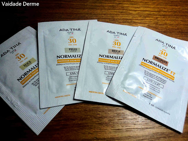 Normalize FT FPS 30 Filtro Solar BB Cream da Ada Tina