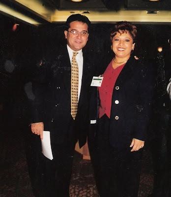 Con el excanciller cubano Roberto Robaina