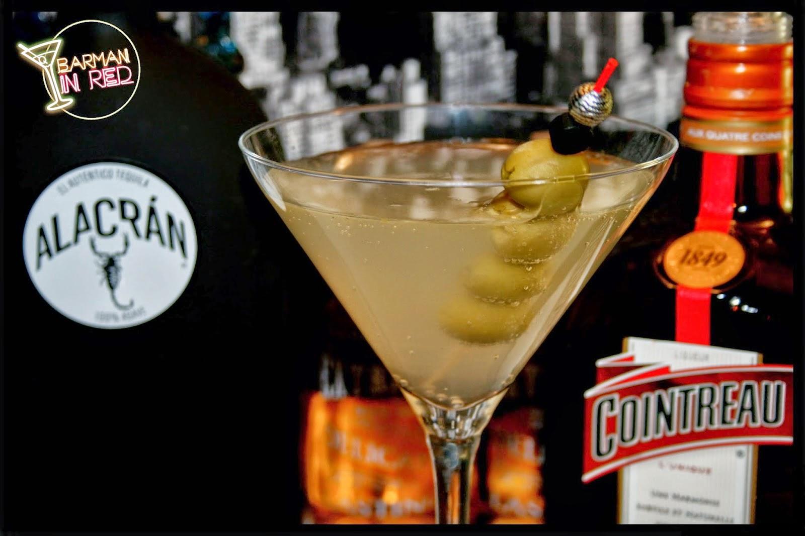 trago martini mexicano
