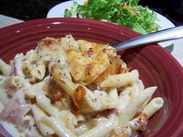 Italian Chicken Pasta Casserole Recipe